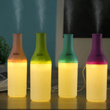 Bottle LED Atomizer Mist Maker Fogger Air Humidifier