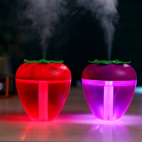 Strawberry Ultrasonic Aromatherapy Mist Maker Air Humidifier