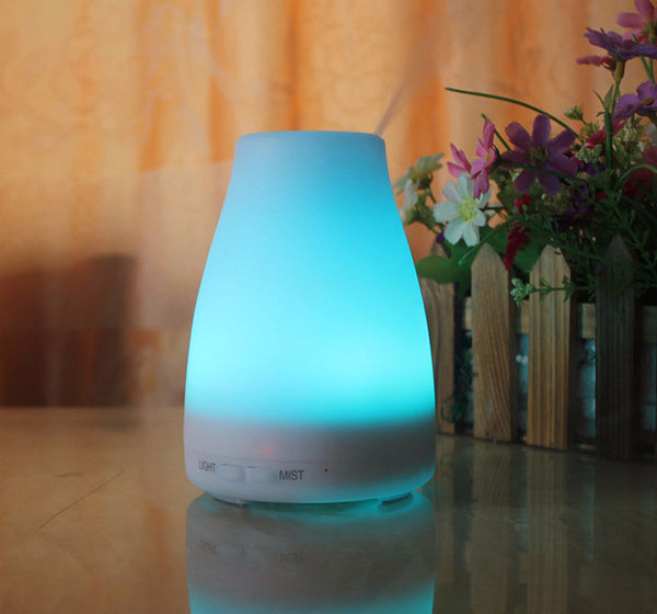 120ml Color Changing Ultrasonic Aromatherapy Air Humidifier