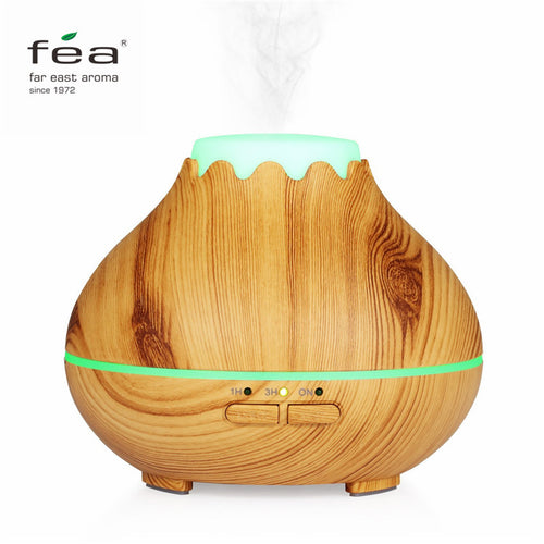 150ml Wood Grain Essential Oil Diffuser Mist Humidifier