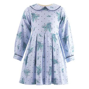 Lily of the Valley Flannel Dress