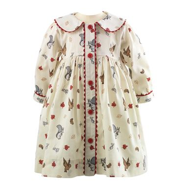 Woodland Button-Front Dress & Bloomers