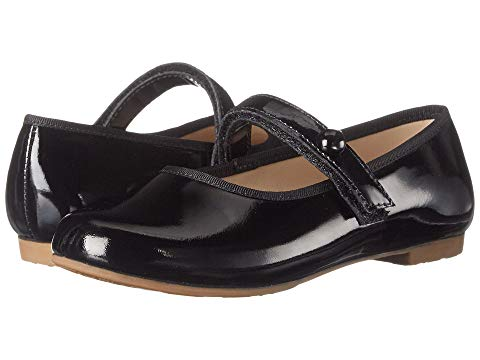 Princess Flat - Patent Black (1137)