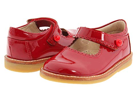 Mary Jane- patent red (3016)