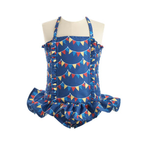 Bunting Ruched Swimsuit
