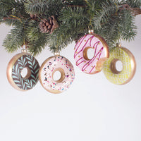 You Deserve A Donut Ornament 4 Pack
