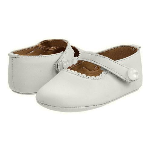 Baby Mary Jane - Leather White (BB33)