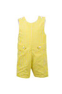 Martin Jon Jon, yellow gingham
