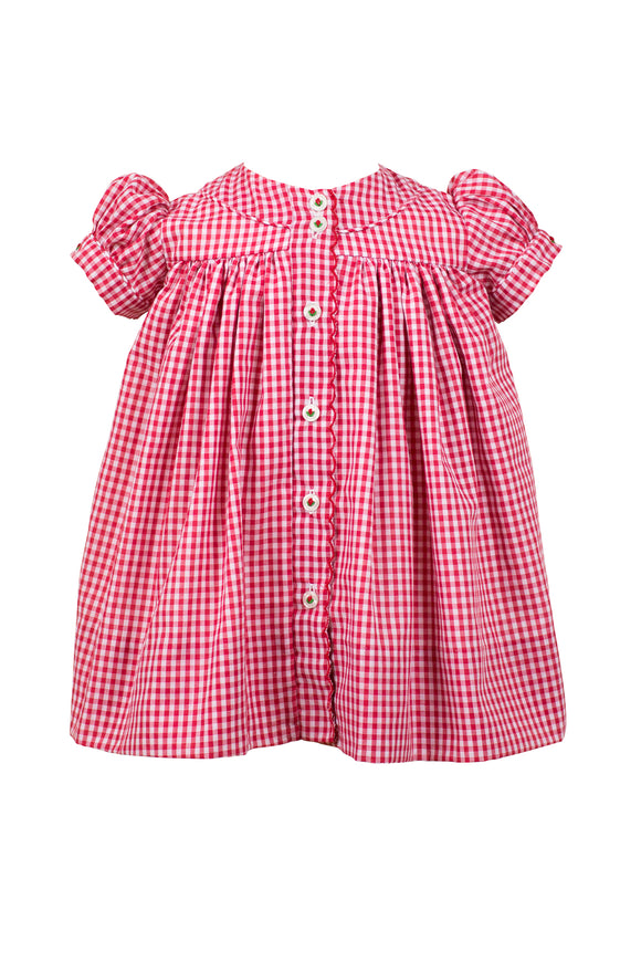 Red Gingham Stella Dress