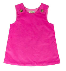 Juliet Jumper- Hamptons Hot Pink Corduroy