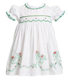 Classic Poinsettia Dress