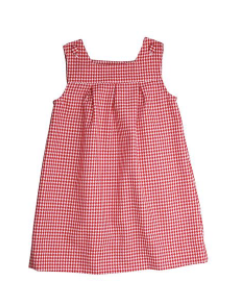 Kate Jumper - Red Houndstooth Check