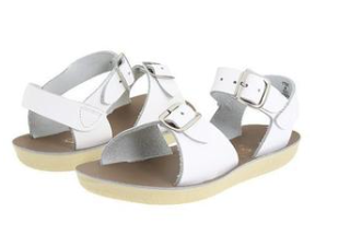 Sun San Salt Water Sandal Surfer - White