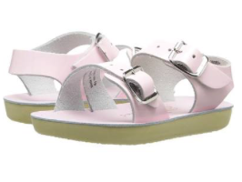Sun San Salt Water Sandal Sea Wee - Shiny Pink