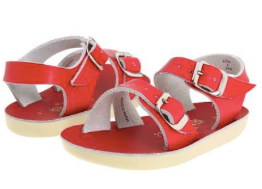 Sun San Salt Water Sandal Sea Wee - Red