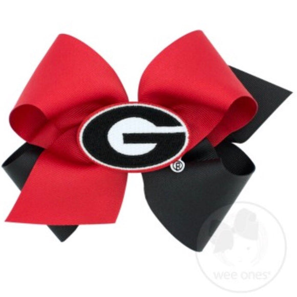 King Two Tone Hair Bow - Georgia Style: DC3500