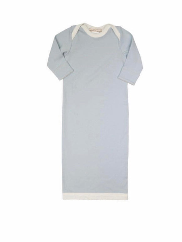 Sadler Sack Gown - Buckhead Blue with Palmetto Pearl