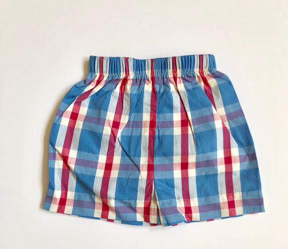 Basic Short - Nantucket Plaid