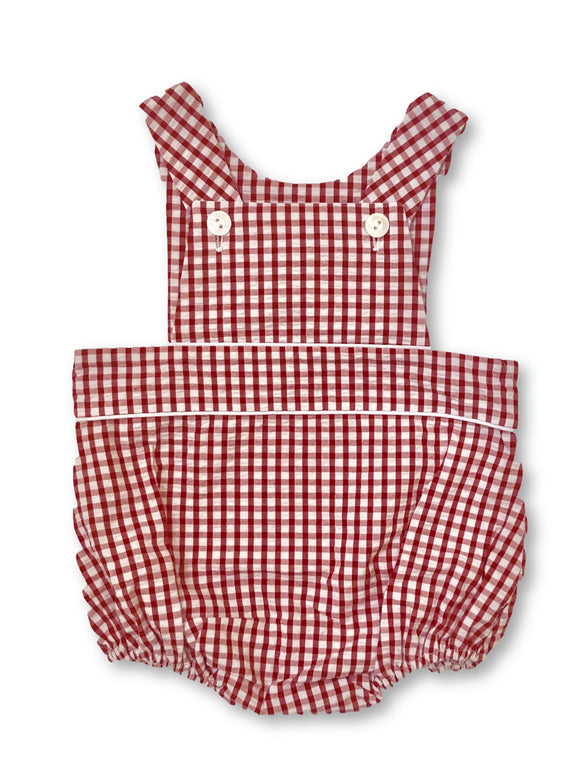 Jack Bubble - Red Seersucker Gingham