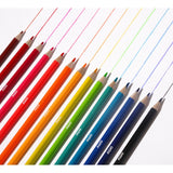 Pack of 16 Neon Metallic Pencils