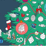 Christmas Tree Giant Sticker Poster