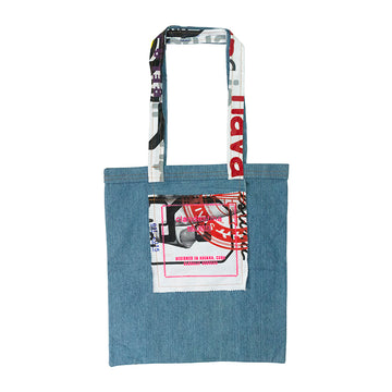 Abuela Recycled Denim Tote