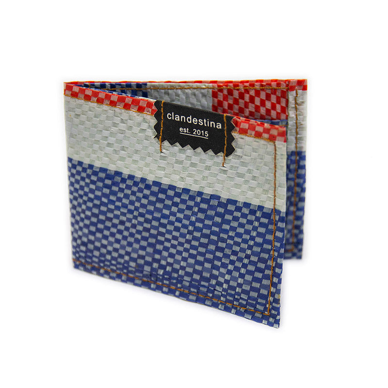Clandestina Recycled Nylon Wallet