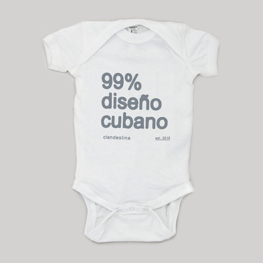 99% Cuban design bodysuit