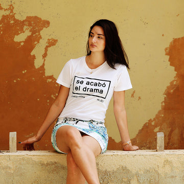 Drama is over Women's Tee