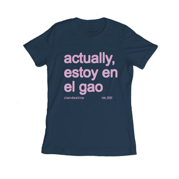 actually, I'm home Women's Tee