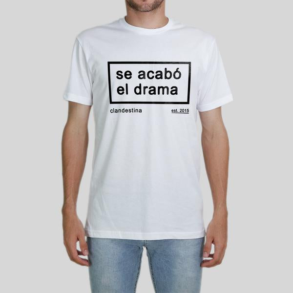 Drama is over Men's Tee