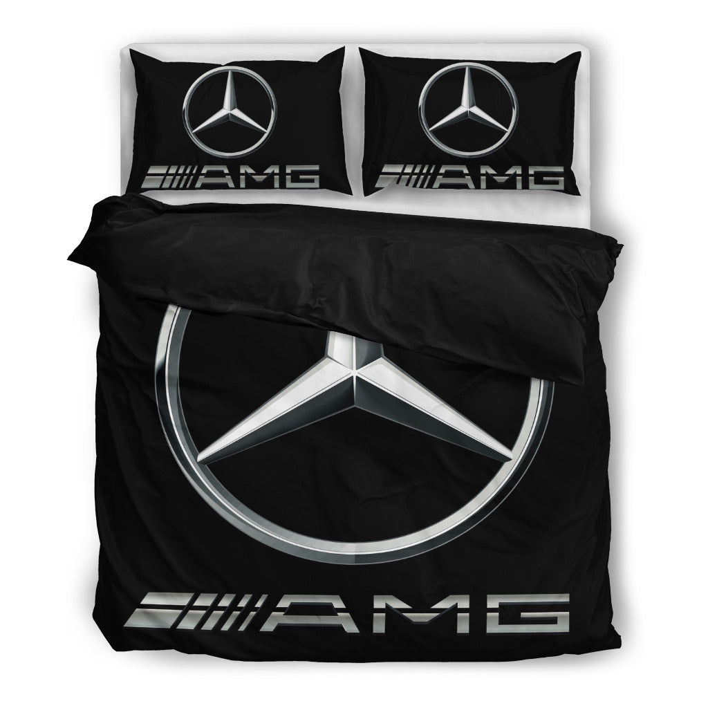 Mercedes Benz Amg Black Bedding Set Migocha