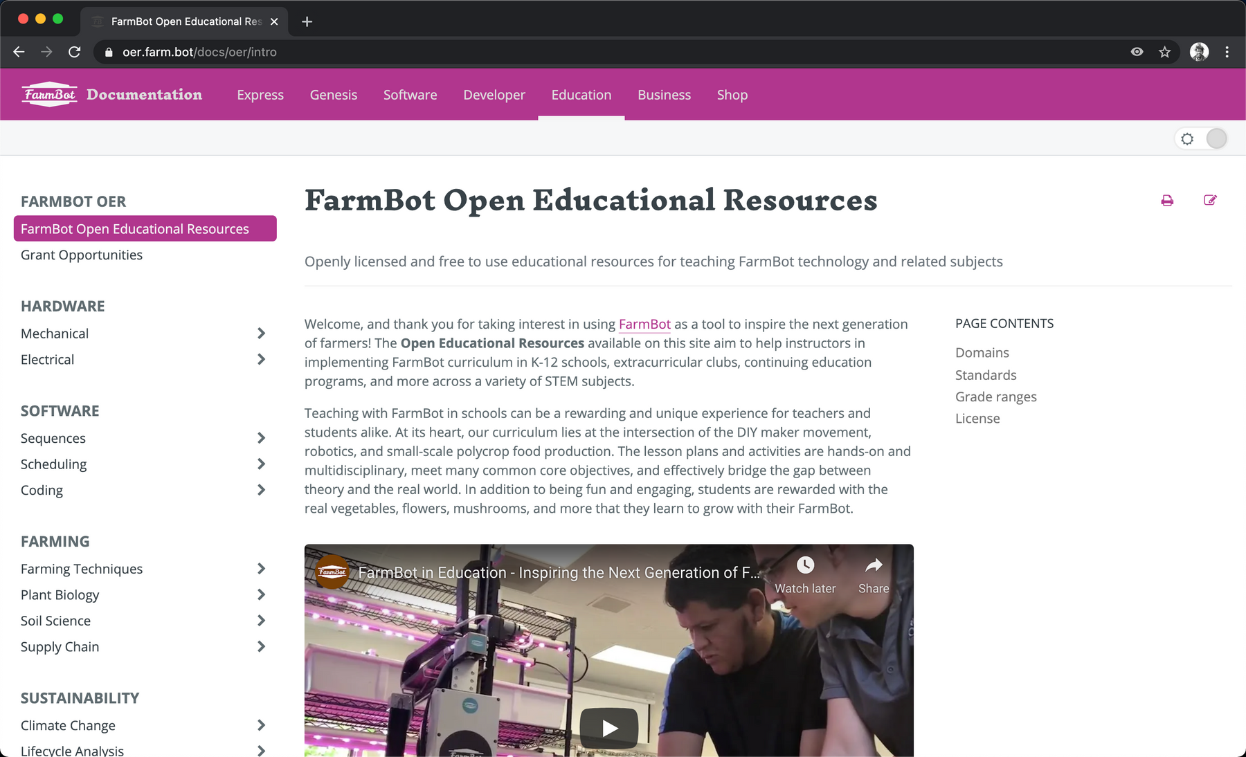 FarmBot Open Educational Resources Beta