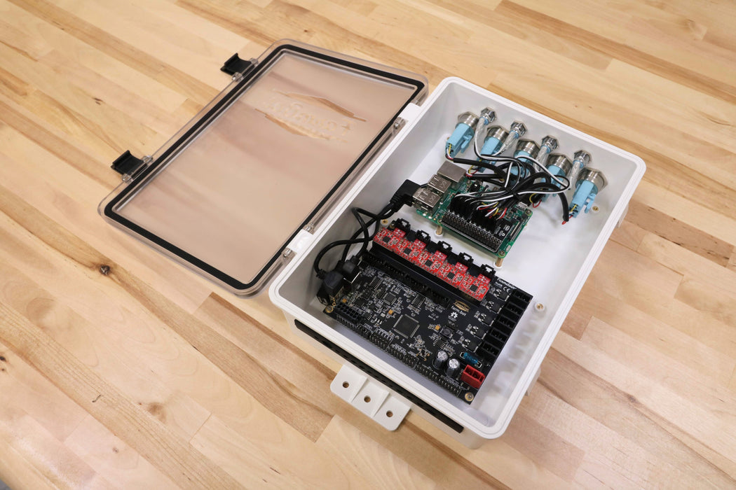 v1.4 Electronics Box with Electronics (Fully Assembled)