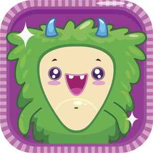 Adorable Cute Video Game Monster Icon Cartoon #2 Vinyl Decal Sticker