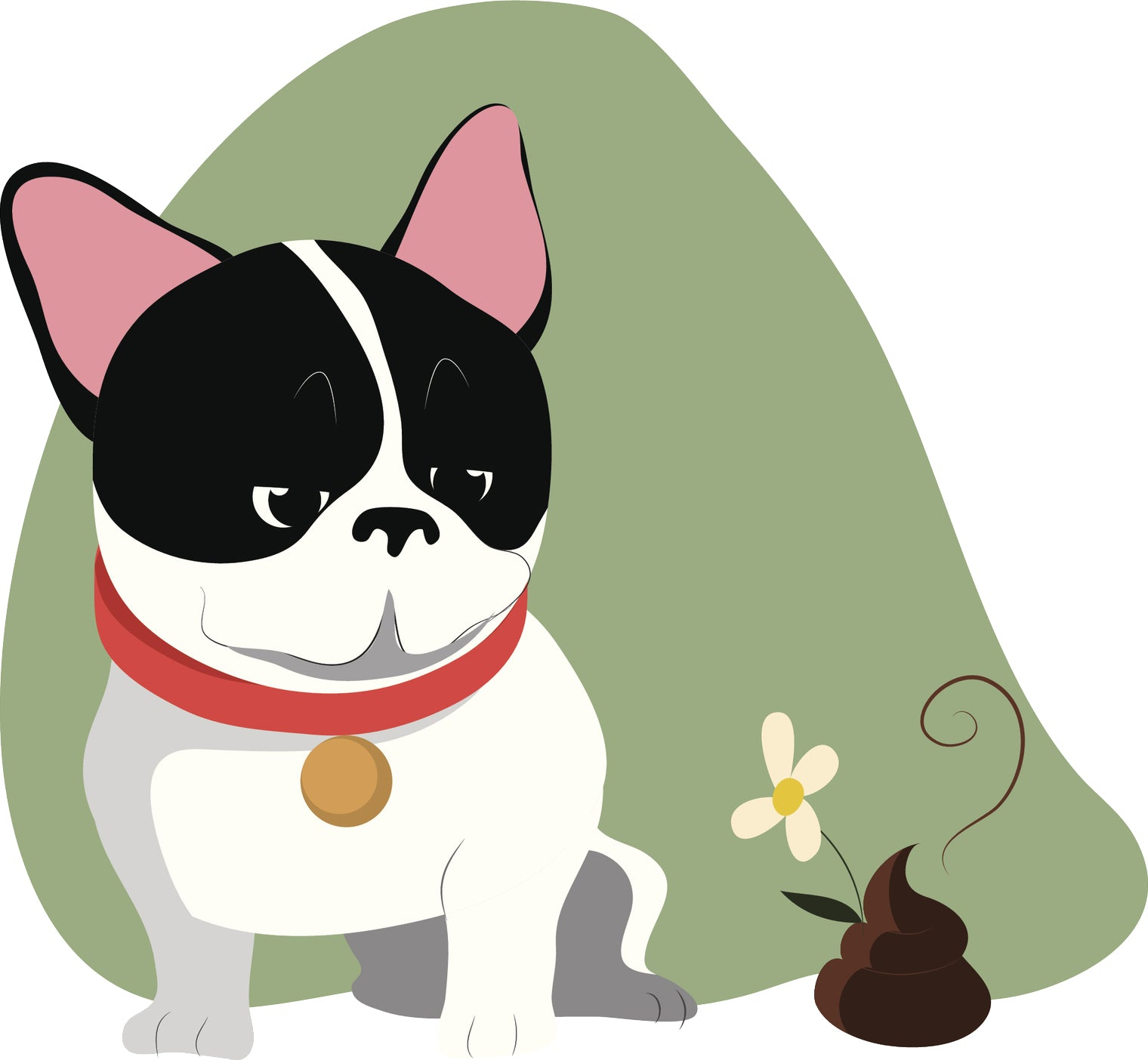 Adorable Happy Boston Terrier Frenchie Puppy Dog #3 Vinyl Decal Sticker