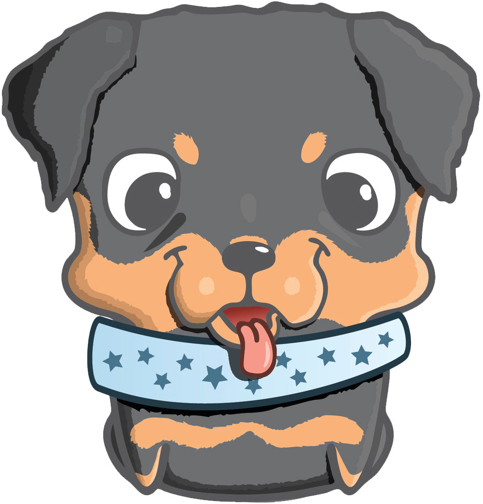 Adorable Purebred Puppy Dog Cartoon Emoji - Mini Pincher Vinyl Decal Sticker