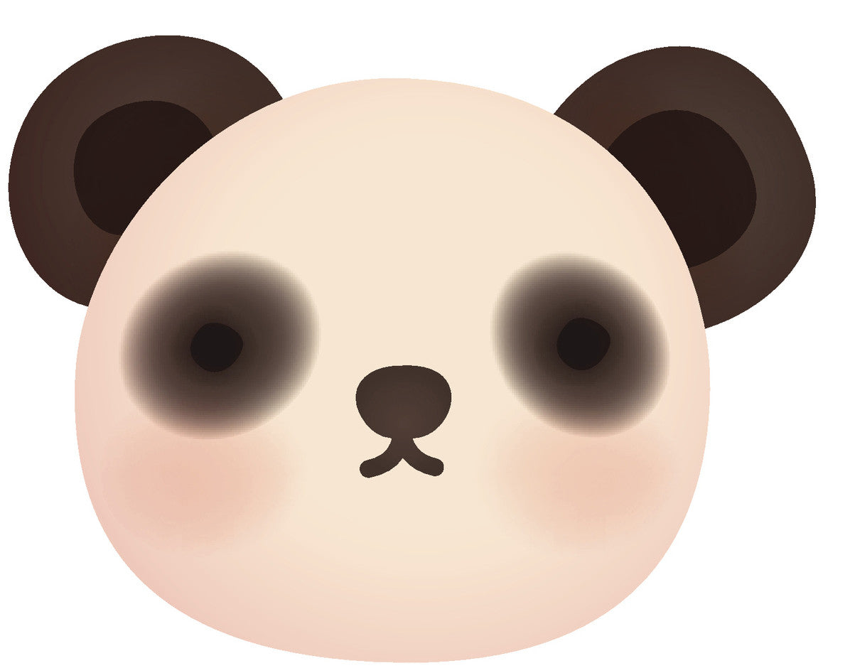 Adorable Teddy Bear Cub - Panda #8 Vinyl Decal Sticker