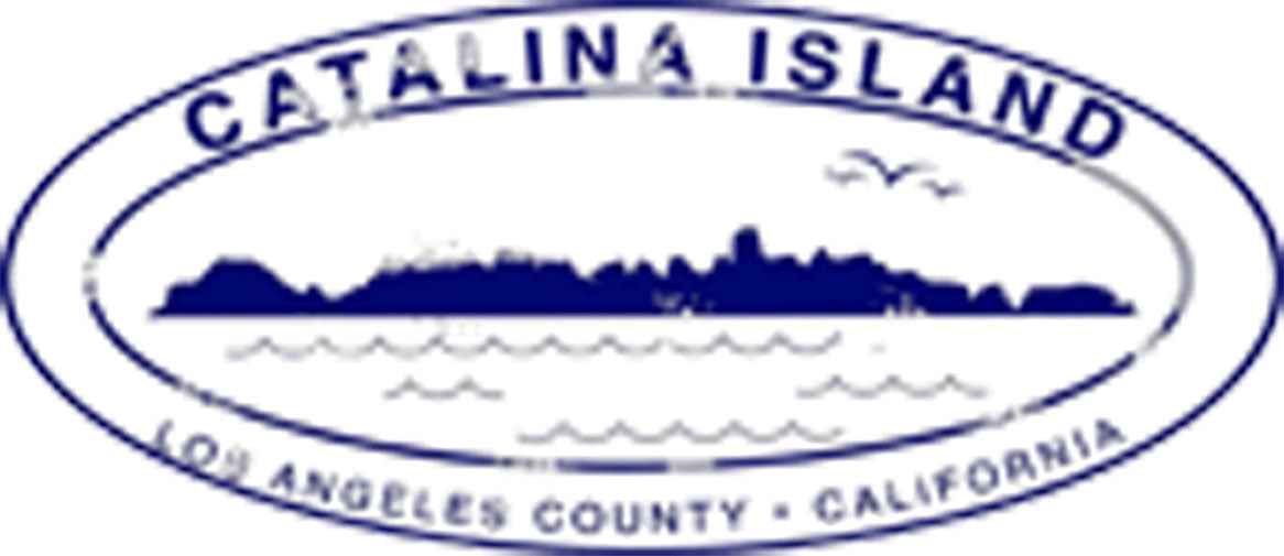 California Landmarks Passport Stamps Travel Cartoon - Catalina Island Vinyl Decal Sticker