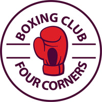 Cool Simple Fighting Combat Sport Cartoon Logo Icon - Boxing #2 Border Around Image As Shown Vinyl Sticker