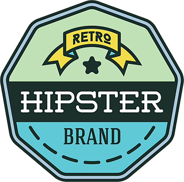 Cool Simple Hipster Vintage Product Brand Logo Icon Art #5 Vinyl Sticker