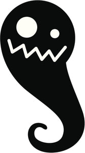 Creepy Silly Kid Monster Silhouette #7 Vinyl Decal Sticker