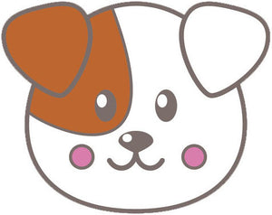 Cute Baby Cartoon Animal - Puppy Dog Vinyl Decal Sticker