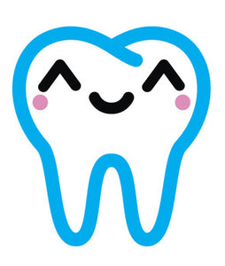 Dentist Dental Care Tooth Teeth Emoji #11 Vinyl Decal Sticker