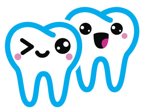 Dentist Dental Care Tooth Teeth Emoji #13 Vinyl Decal Sticker