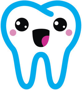 Dentist Dental Care Tooth Teeth Emoji #1 Vinyl Decal Sticker