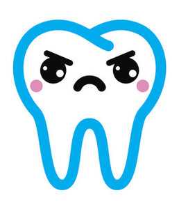 Dentist Dental Care Tooth Teeth Emoji #3 Vinyl Decal Sticker