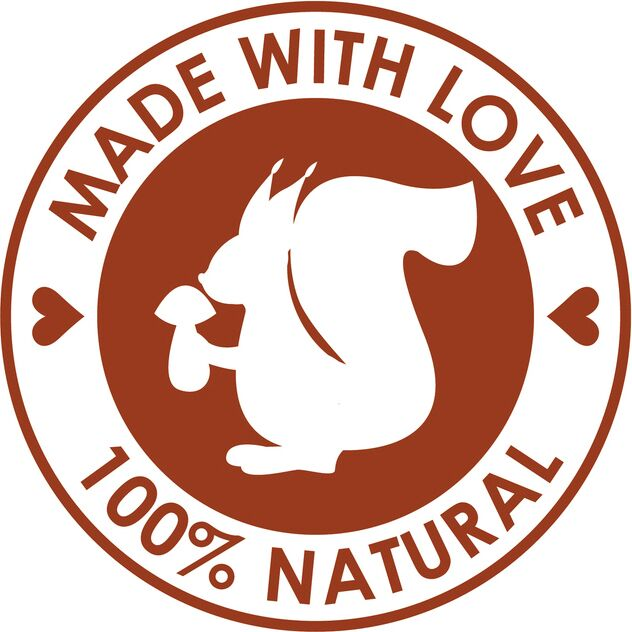 Eco-Friendly 100% Natural Green Emblem Logo Icon - Simple #2 Vinyl Decal Sticker