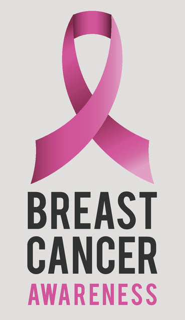 Pink Breast Cancer Icon - Breast Cancer Awareness Vinyl Decal Sticker