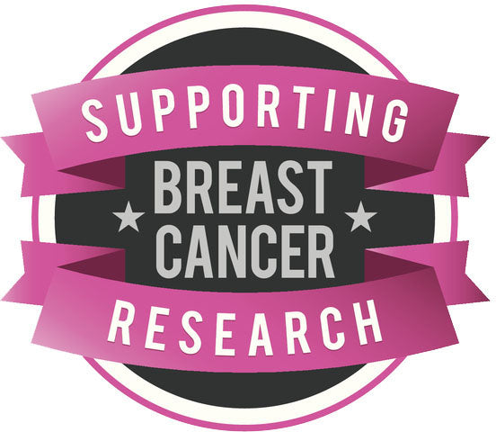 Pink Breast Cancer Icon - Supporting Cancer Research Vinyl Decal Sticker